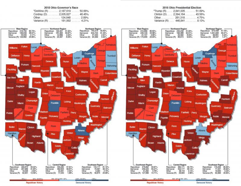 2018_gov_race_and_2016_prez_race_maps
